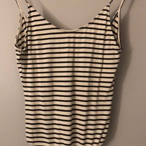 Striped bodysuit from American Eagle